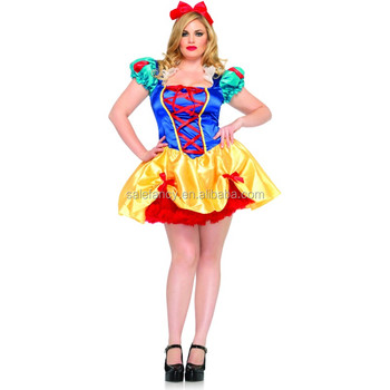 Sexy Plus Size Women Halloween Costume Idea For Pretty Female Perfect  Fantasy Model Style Carnival Adult