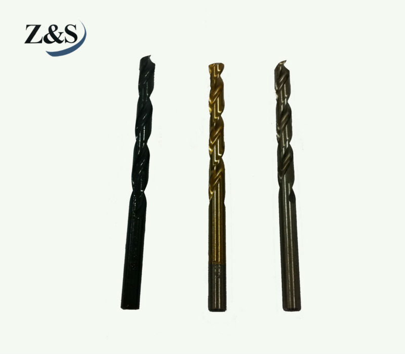 Hss Straight Shank black Twist Drills