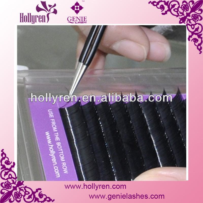 Synthetic Hot Selling Faux Mink Natural Eyelash Extensions D Curl