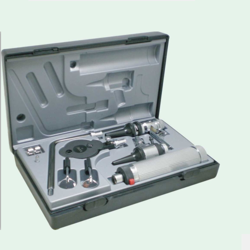 Cina ophthalmic ophthalmoscope dan otoscope set
