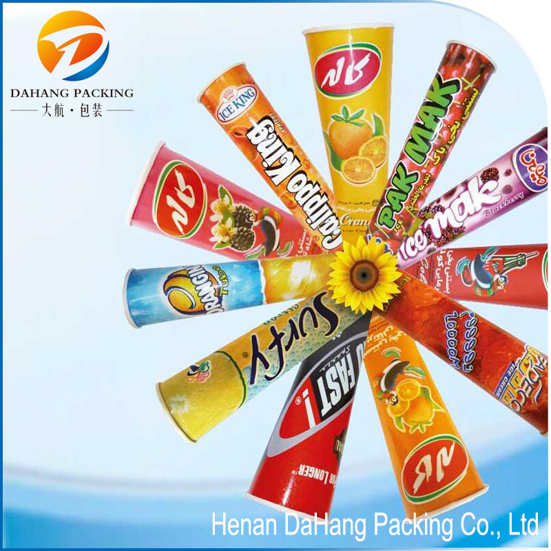 Packaged for calippo tube / ice cream paper cup wit lid