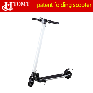2018 China wholesale new shock absorber design two wheel 6 inch aluminum alloy Foldable mini Electric Scooter