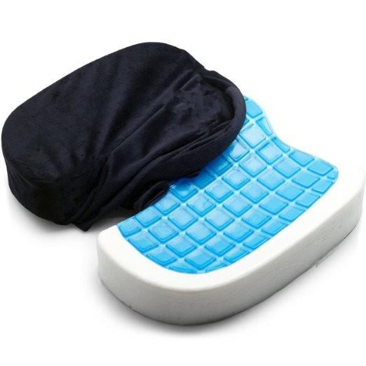 gel seat cushion coccyx orthopedic comfortable gel seat cushion with handle buy gel seat. Black Bedroom Furniture Sets. Home Design Ideas