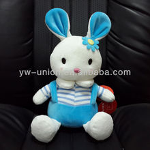 Baby Playing High-quality Plush Soft Bunny