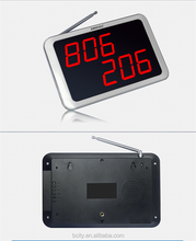 Wireless paging system,display unit for wireless keyboard, call waiter system for self-service pub,supermarket,cinema