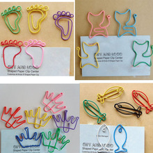 Creative Cute Kawaii Paper Clips Bookmark Memo Clip for Office School Supplies Stationery