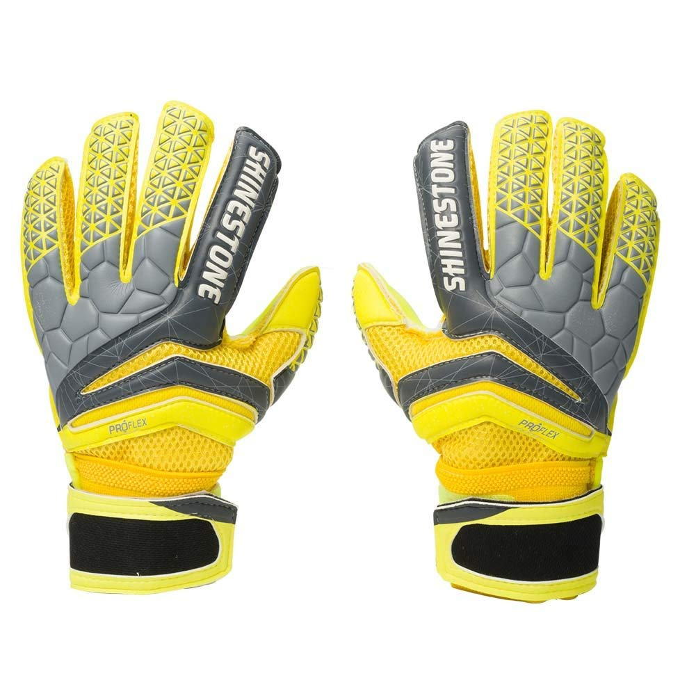 ea8492fcf Get Quotations · Shinestone Youth&Adult Goalie Goalkeeper Gloves, with  Finger Protection to Prevent from Injuries Size 5 Size