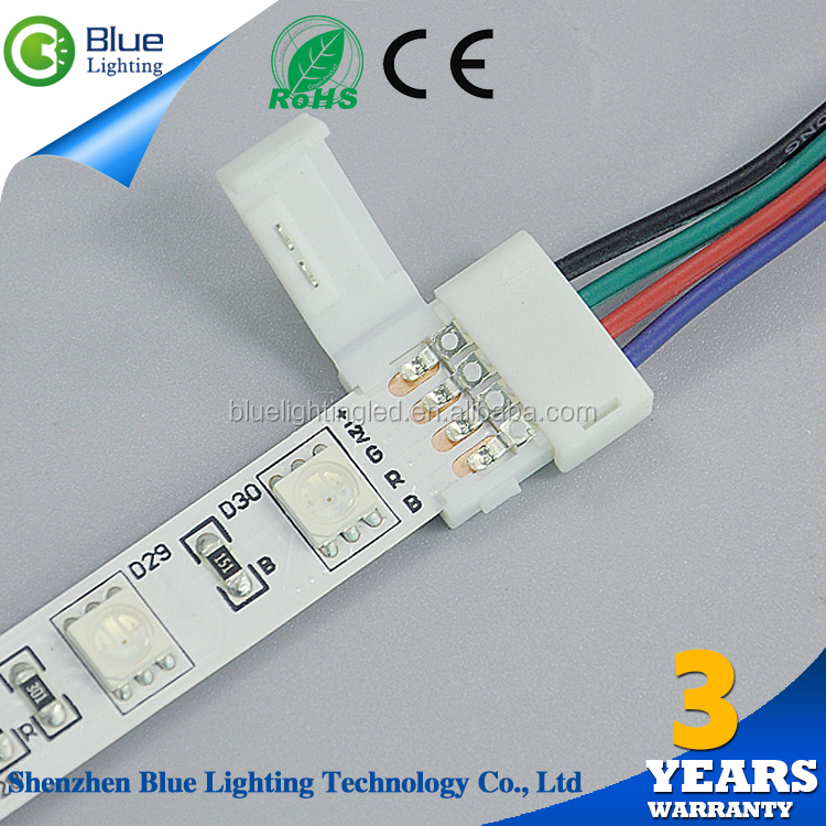 New innovative products 3528 rgb 4 wire led strip connector from alibaba premium market