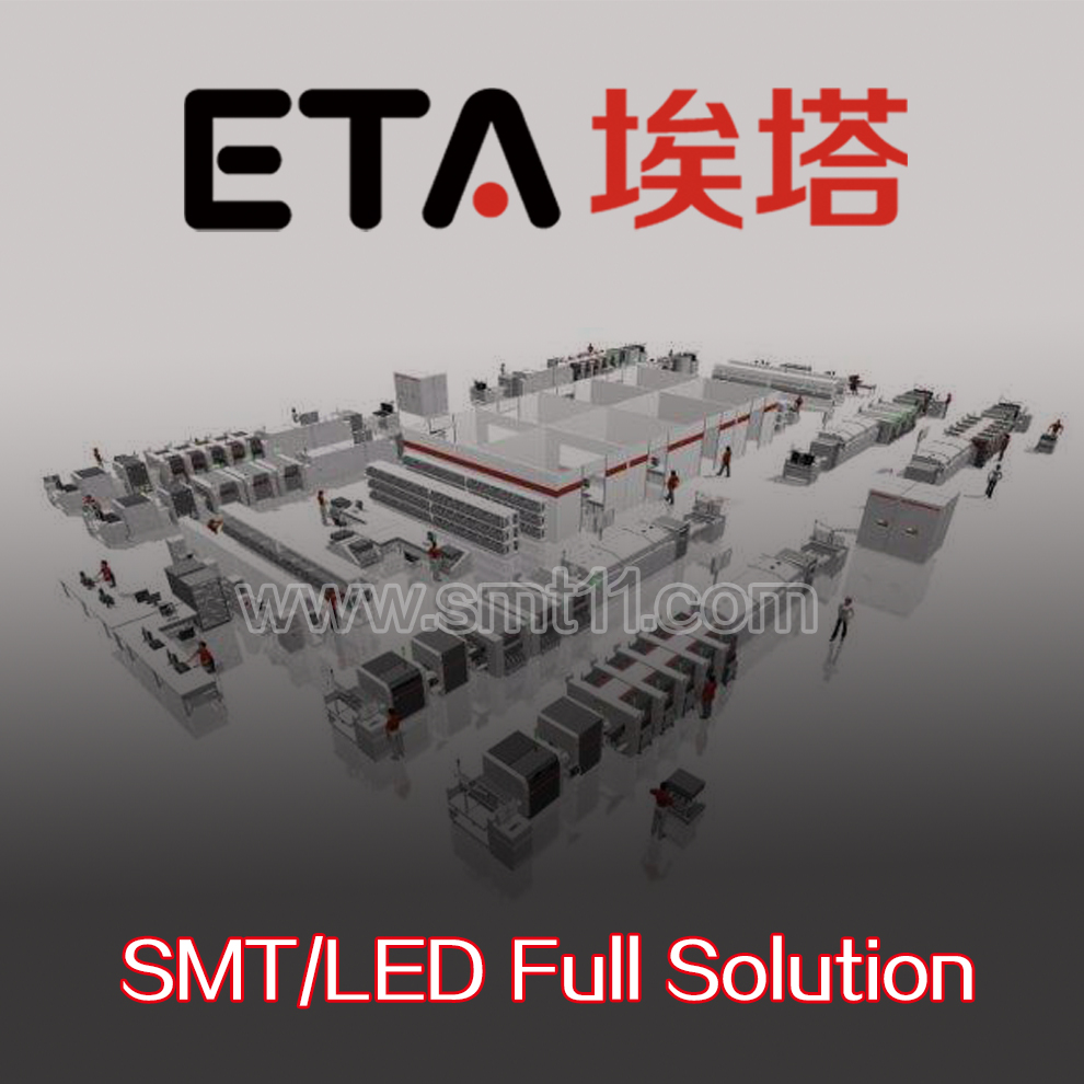 Low Cost S18 Small Pcb Smt Production Machine Lineautomatic Led Smd And Solder Defects Electronics Manufacturing Assembly Machineled Bulb Light Lineled Wave Soldering Machinedip