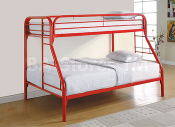 Multi Color Cheap Metal Double Heavy Duty Stable Bunk Bed For Adults