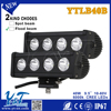 Y&T 2014 auto parts Dust-proof 9.5inch led work light bar off road electric bike led light bar