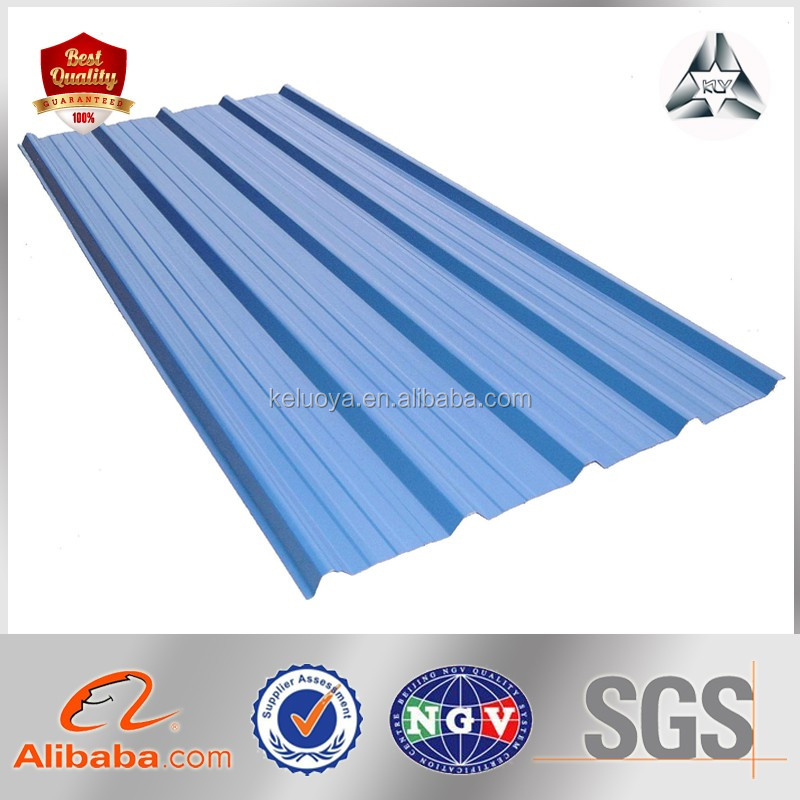 corrugating zinc coating steel sheets