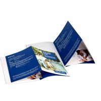 Promotional cheap full color printing pop up brochure