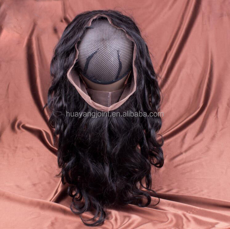 Wholesale Virgin Indian Human Hair Lace Frontal Top Quality 360 Lace Band Closure For Black Women