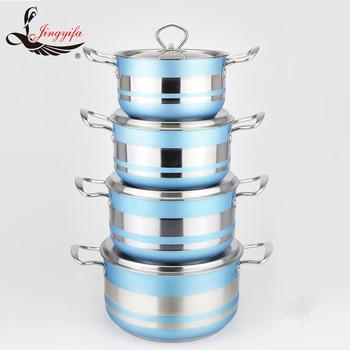 Accessoires De Cuisine Bleu Couleur 8 Pcs Super Fond De Capsule De ...