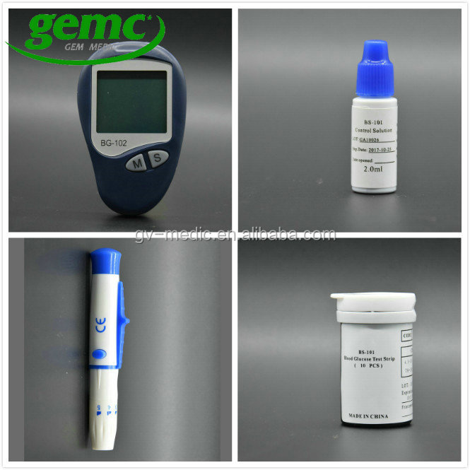 CE Marked Blood Glucose Diabetes Test Strip