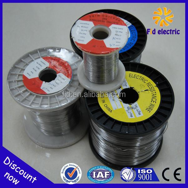 nickel chrome 20% cr 80% ni resistance wire / strip / ribbon