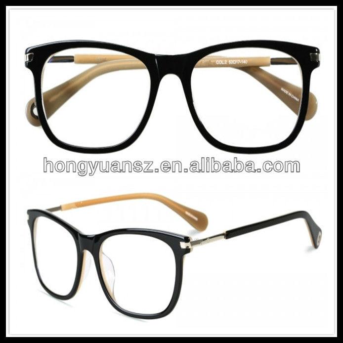 2017latest Design Spectacle Optical Frame Eyeglass Frame Parts - Buy ...