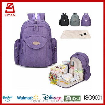 Changing Bag Nappy Water Resistant Baby Diaper Backpack