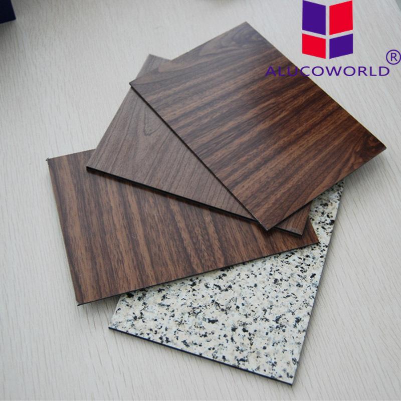 3mm 4mm Mirror Aluminum Composite Panel Black Cabinet