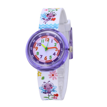 WJ-8554 Silicone Band Fashion Cute Multi Cartoon Children Watches Hot Sale Cheap Lovely Kid Wrist Watch