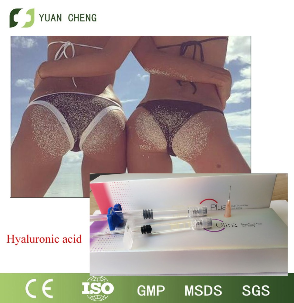 High security HA dermal filler /hyaluronic acid injectable bottocks enhancer dermal filler deep derm 10ml