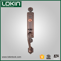 New products 2016 wood and metal mortise handle apartment door safe lock
