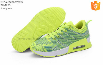 latest air cushion women action sports running shoes