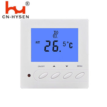 Hotel and Home LCD Screen Room Electric Floor Heating Thermostat 16A