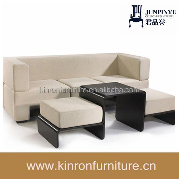 Multifunktionale Slot sofa mit couchtischplatzsparend