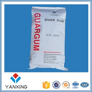 Guar gum powder raw material of guar gum splits in Oilfield