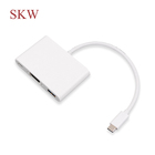 android 3 in 1hub multi data sync fast charging usb cable