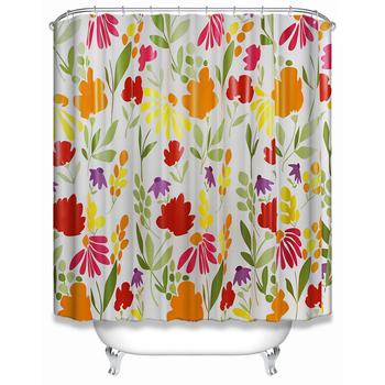 Peva Glitter Shower Curtain Liner Mould Proof Resistant