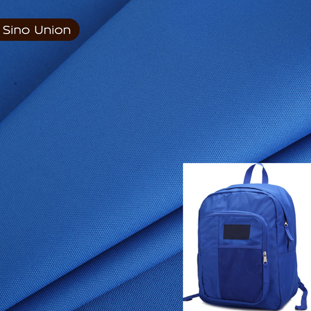 Water resistant sunshade pvc pu coated oxford fabric bag material