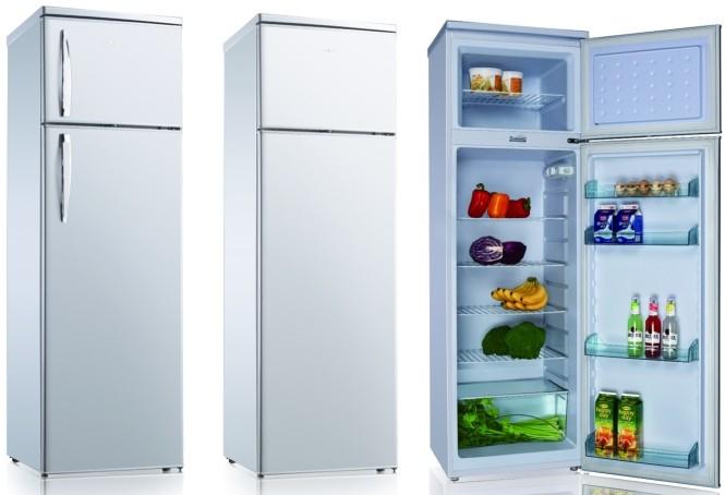 Electrodom sticos refrigerador de doble puerta congelador arriba abajo nevera bcd 275 - Nevera doble puerta ...