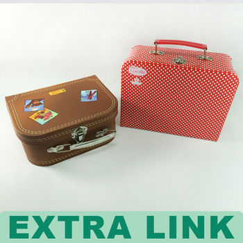Decorative Suitcase Boxes High End New Design Decorative Paper Suitcase Box  Mini Suitcases 58