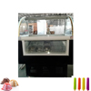 Popular Gelato Fridge Ice Cream Popsicle Display Showcase Freezer