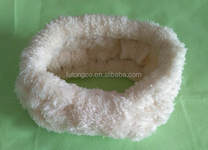 Sweet Lovely Hot Cute girls coral velvet hair band with bowknot