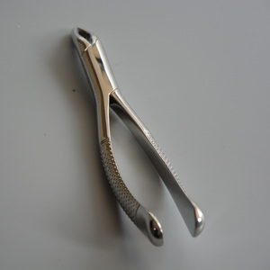 Dental tooth extraction forceps for surgery with different types