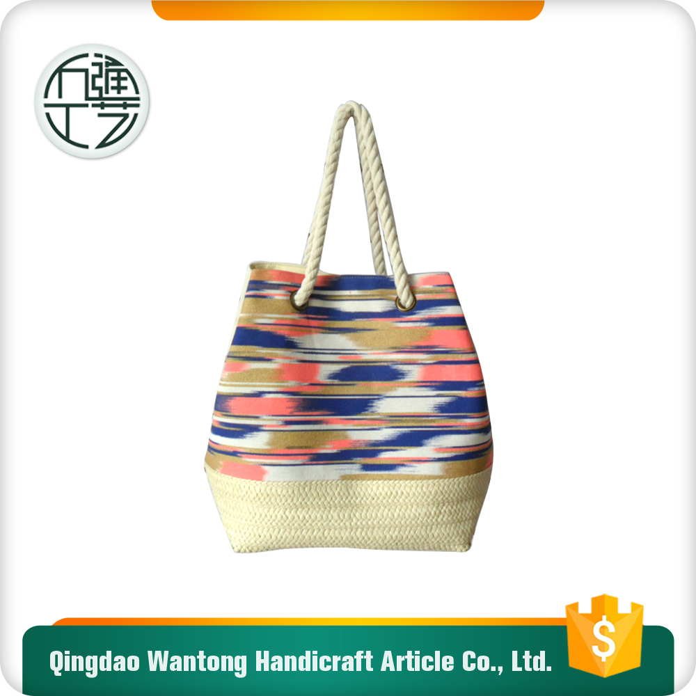 large-scale enterprise stocked fashion fabric tote bag