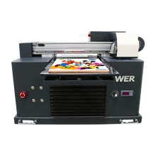 Hot selling A3 size WER-E3055UV alle kleur uv led dvd cd printer