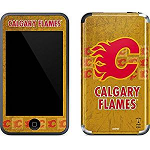 NHL Calgary Flames iPod Touch (1st Gen) Skin - Calgary Flames Vintage Vinyl Decal Skin For Your iPod Touch (1st Gen)