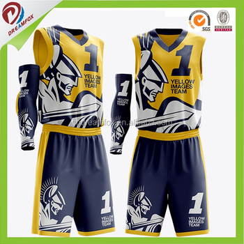 d1629c689 2017 Dye Sublimation Latest logo designs basketball jersey Cheap wholesale  reversible team basketball uniforms for youth