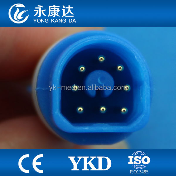 PHILIPS M1941A hemicycle 8PIN Suitable for Philips SpO2 Extension Cable 2.2 M, TPU Material