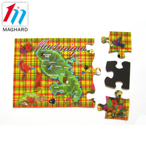 Hotsales Cardboard jigsaw puzzle Magnetic jigsaw Puzzle