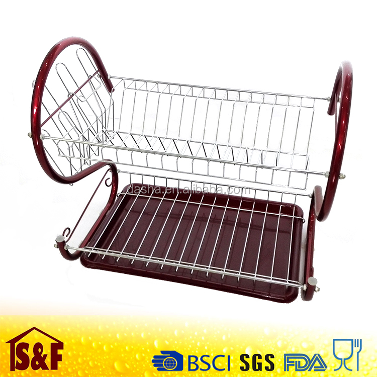 metal dish drainer rack products