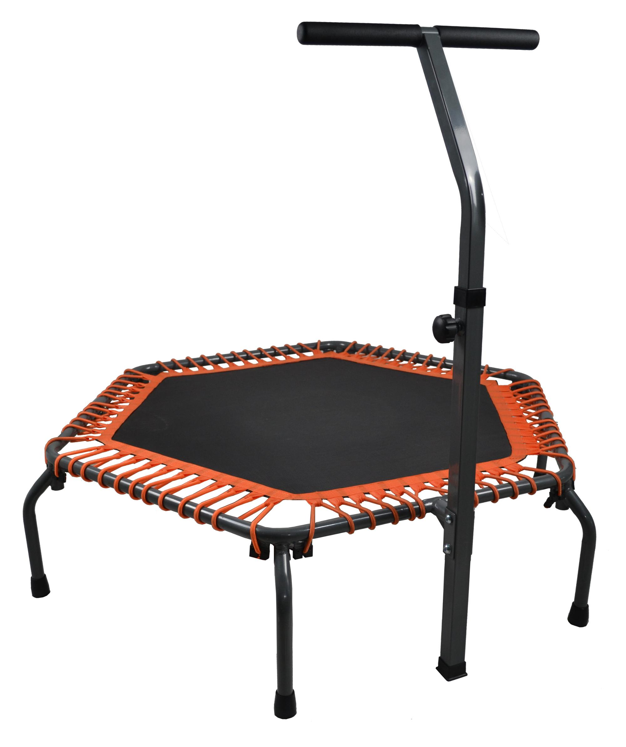 Bungee เชือก fitness hexagonal trampoline