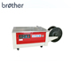 Brother easy operation multifunction adjustable price small semi-automatic strapping machine