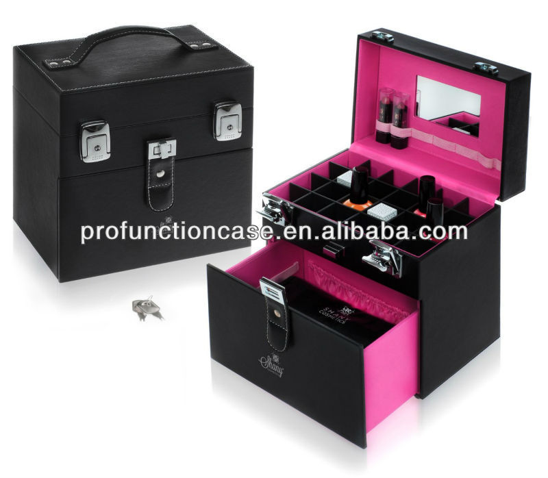 Cosmetics Pink Matters Nail Accessories Organizer Makeup Case