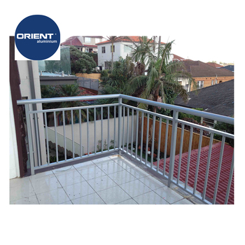 Aluminium Balustrades Stair Handrails Aluminum Decking Railings Prefab  Metal Stair Railing